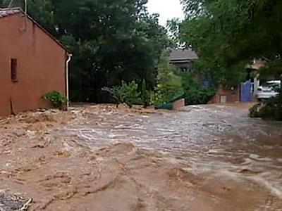 Юг Франции ушел под воду от новых ливней