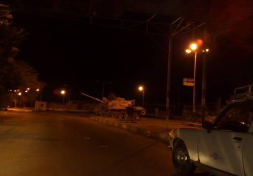 В Порт-Саид египетские власти ввели танки и объявили комендантский час