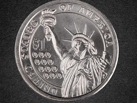Америка не будет выпускать монету в триллион долларов