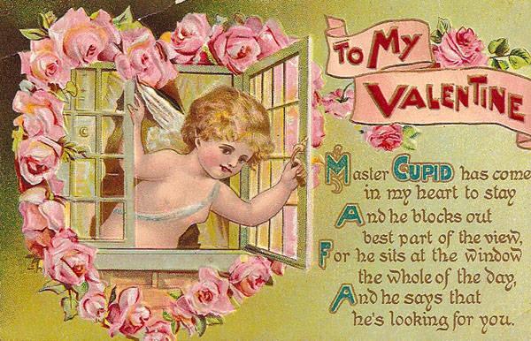 Открытка ко дню святого валентина на английском языке 31