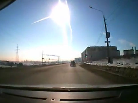 Апокалипсис по-челябински: при падении метеорита в озеро пострадали сотни людей
