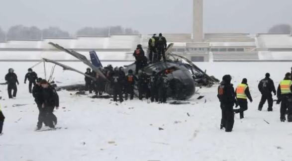 Над Берлином столкнулись и упали два полицейских вертолета
