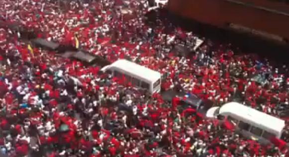 Венесуэла прощается с Уго Чавесом в лучших советских коммунистических традициях