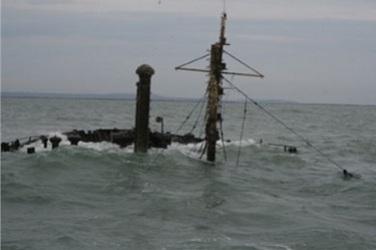 Под Одессой затонул молдавский сухогруз с украинским экипажем