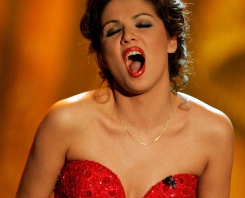 Российская оперная певица анна