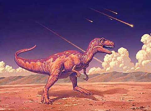 asteroid theory dinosaur extinction essay Though the general opinion is that an impact event was the primary cause of dinosaur extinction how the dinosaurs became extinct this theory because this.