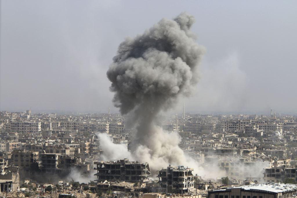 Авиаудары в Сирии: 12 человек погибли, десятки раненых