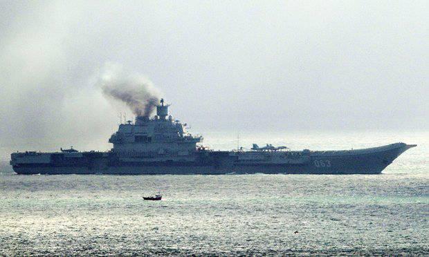 Минобороны опровергло направление запроса Испании одозаправке «Кузнецова»
