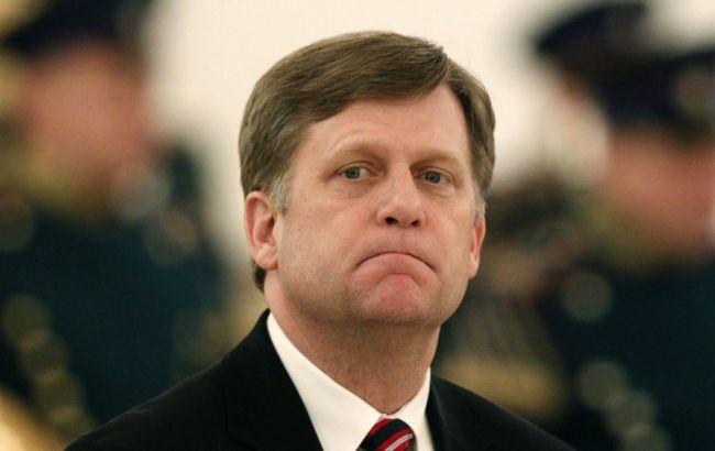 Бывший посол США в Российской Федерации попал под санкции