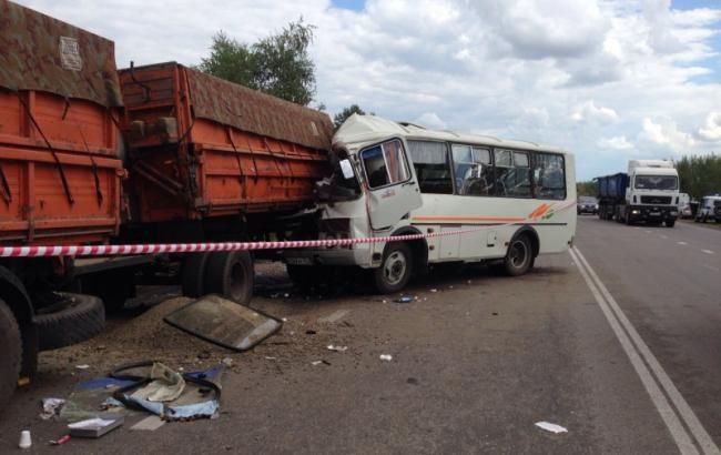 В результате ДТП в Ростовской области погибли 6 граждан Украины
