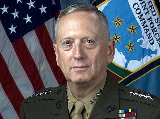 Новым министром обороны США назначен генерал в отставке Мэттис