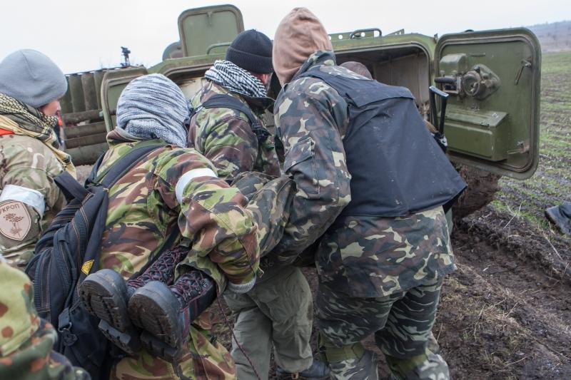 В результате обстрела со стороны НВФ были ранены два бойца ВСУ