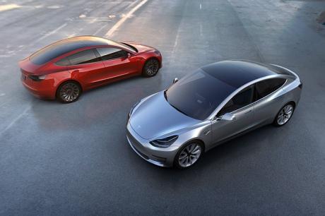 Tesla Motors представил бюджетный автомобиль за 35 тысяч долларов