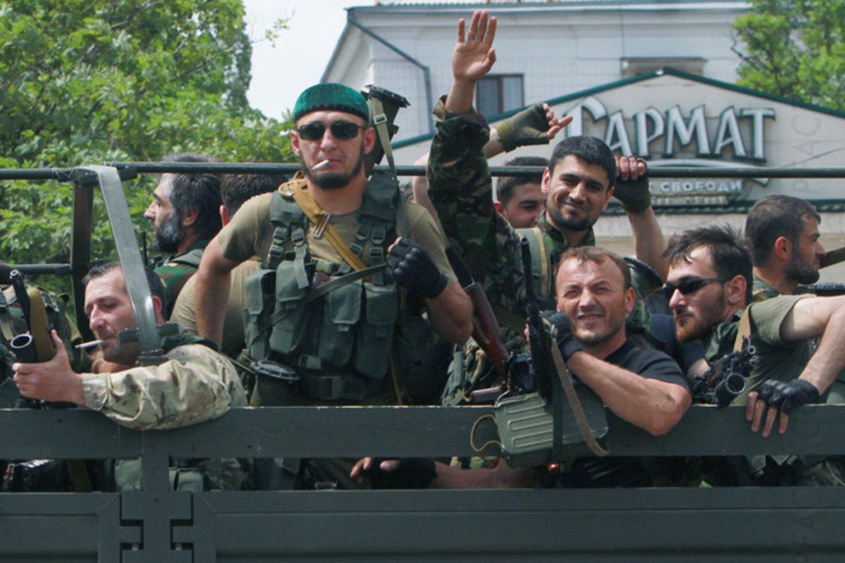 секс в чеченскую войну