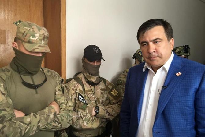 Луценко отреагировал наобыски усоратника Саакашвили