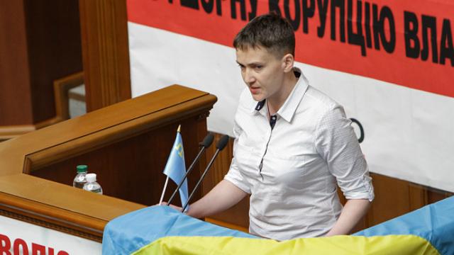 От босоногой Савченко в Раде досталось «ленивым школьникам» и «шакалам»