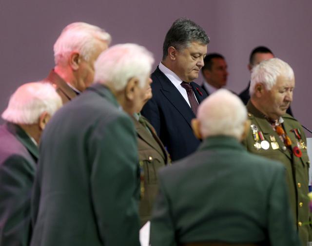 Порошенко: Вторую мировую войну невыигралибы без участия Украинского государства