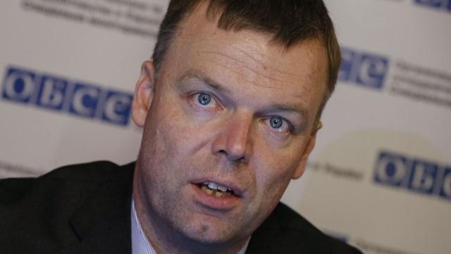 Наблюдатели ОБСЕ сообщают об обострении ситуации на Светлодарской дуге
