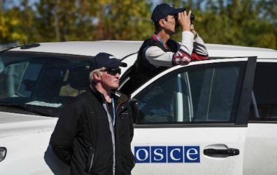 Поблизости Водяного под обстрел попала миссия ОБСЕ