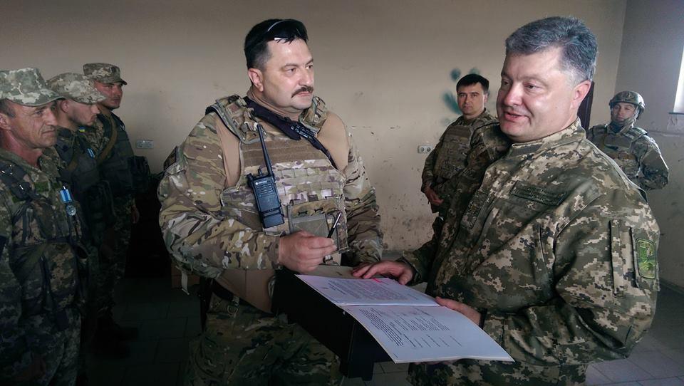 Президент Украины непосредственно на передовой подписал указ о демобилизации
