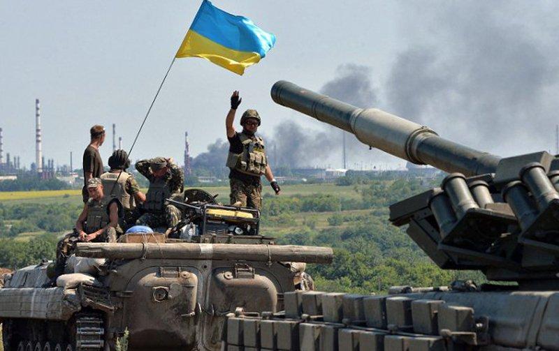 Украинские военные на четыре километра продвинулись в сторону Дебальцево и заняли важную высоту