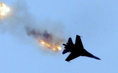 В интернете опубликована видеозапись с места крушения Су-27 ВКС РФ под Москвой
