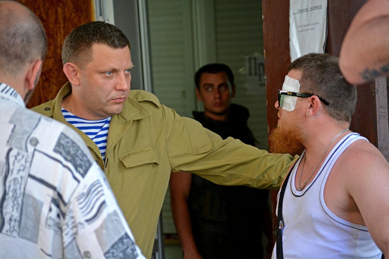 Захарченко: взрыв в Донецке – попытка покушения на «Моторолу»