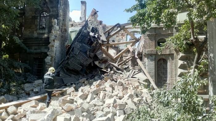Под завалами здания, рухнувшего в Одессе, людей не обнаружено