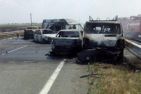 В Кировоградской области произошло масштабное ДТП, погибли три человека, ранены четверо