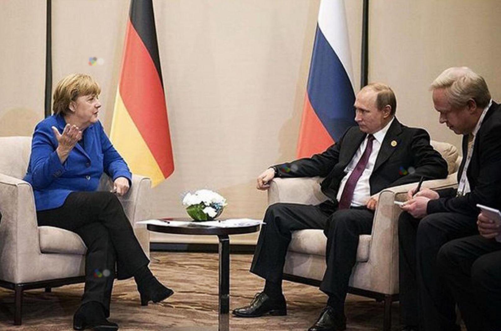 На саммите G20 Путин будет обсуждать с Меркель и Олландом украинский вопрос