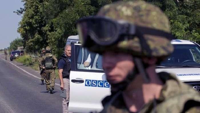 Персонал ОБСЕ непокидал территорию Донецкой области