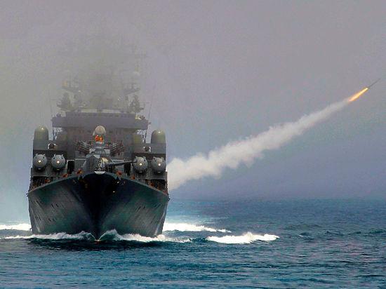 Россия нанесла удар крылатыми ракетами с кораблей по территории Сирии