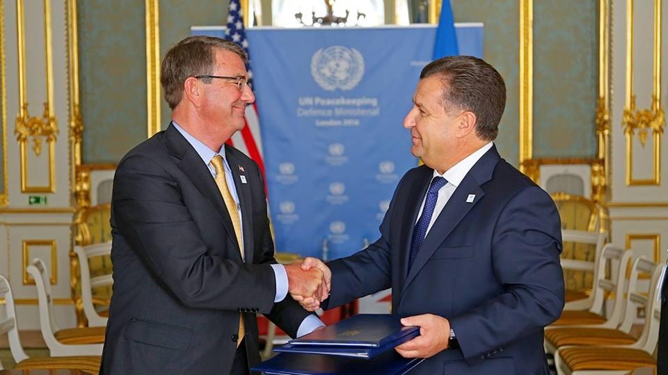 Украина иСША подписали соглашение овоенном сотрудничестве