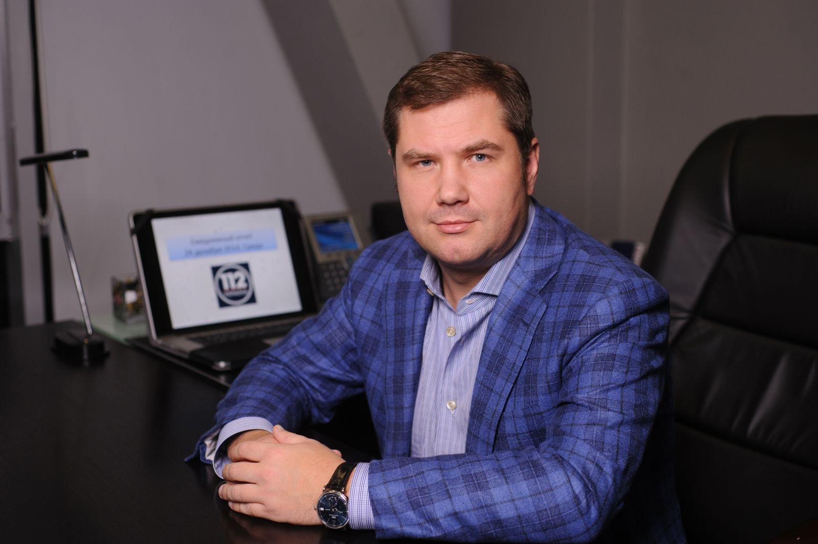 Владелец «112 Украина» оформляет политическое убежище в Бельгии