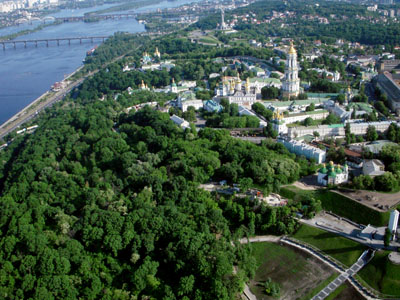 Украина с высоты птичьего полета