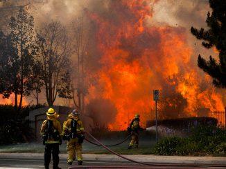 Пожары в Калифорнии унесли жизни 15-ти человек