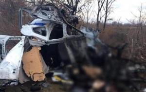 Подрыв полицейской машины в Донецкой области назвали терактом