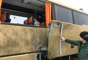 В МИДе Польши назвали инцидент с автобусом во Львове «Антипольским актом»