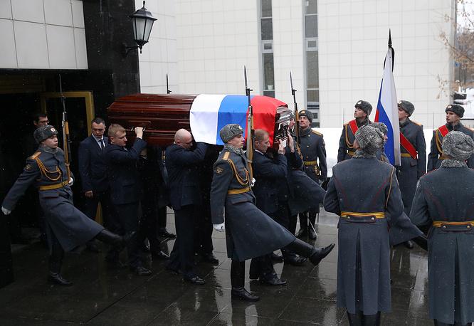 В Москве прошли похороны Чуркина