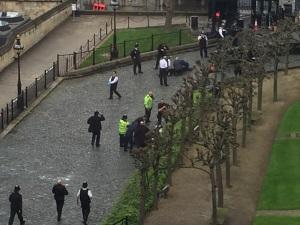 Стрельба в Вестминстере: ранены 10 человек, нападавший застрелен