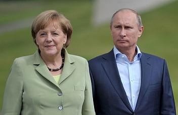 Какие вопросы обсуждали Меркель и Путин в Сочи