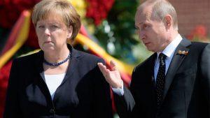 Меркель и Путин встретятся в Сочи