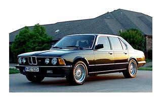 Обзор BMW E23