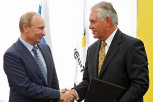 В Кремле закончилась встреча Путина и Тиллерсона