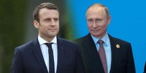 В разговоре с Макроном Путин назвал войну на Донбассе внутриукраинским кризисом