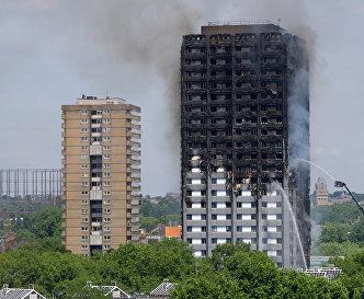 Пожар в лондонской высотке начался из-за холодильника