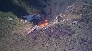 Стали известно точное число жертв крушения самолета морской пехоты