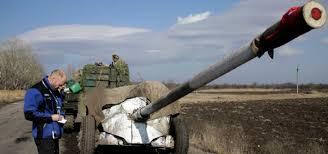 В Луганске наблюдатели ОБСЕ обнаружили зенитную установку в одном из конвоев