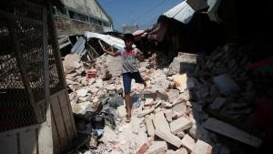 Мексика пострадала от сильного землетрясения