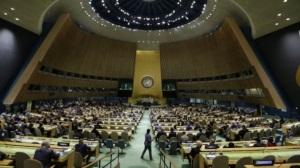 Российская делегация покинула зал ООН во время выступления президента Литвы